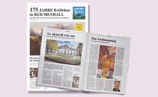 Zeitung 175 Jahre BADekur