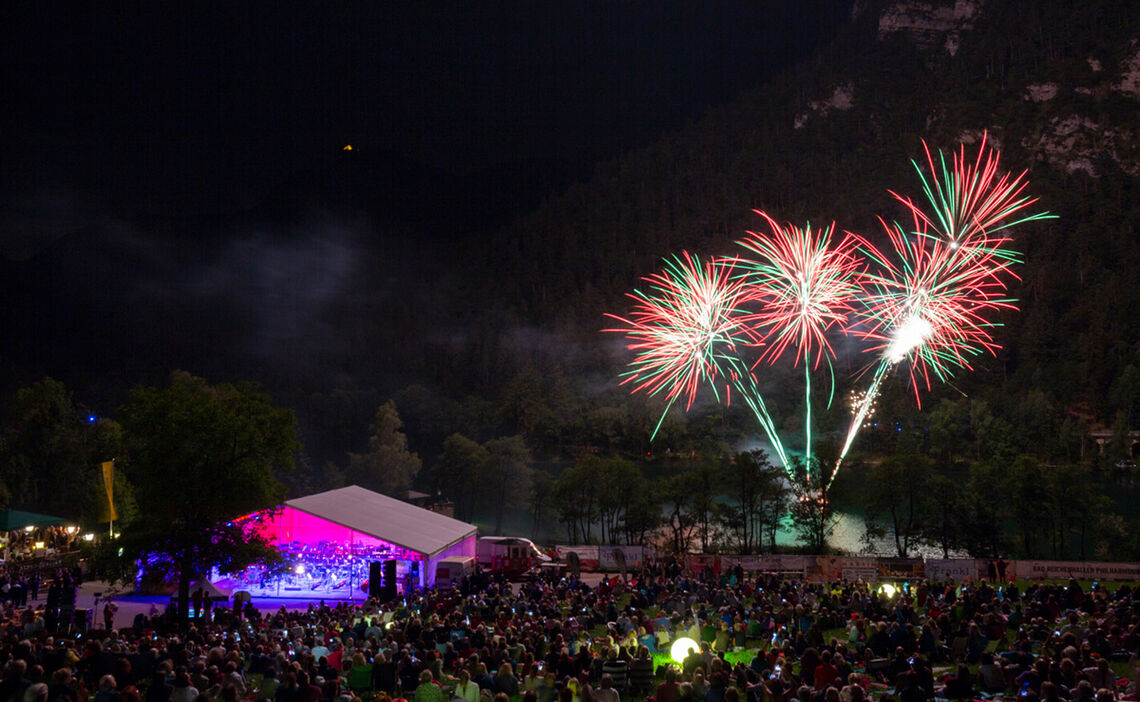 Open-air Concert with fireworks