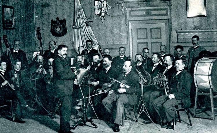 Orchester Liedertafel 1900