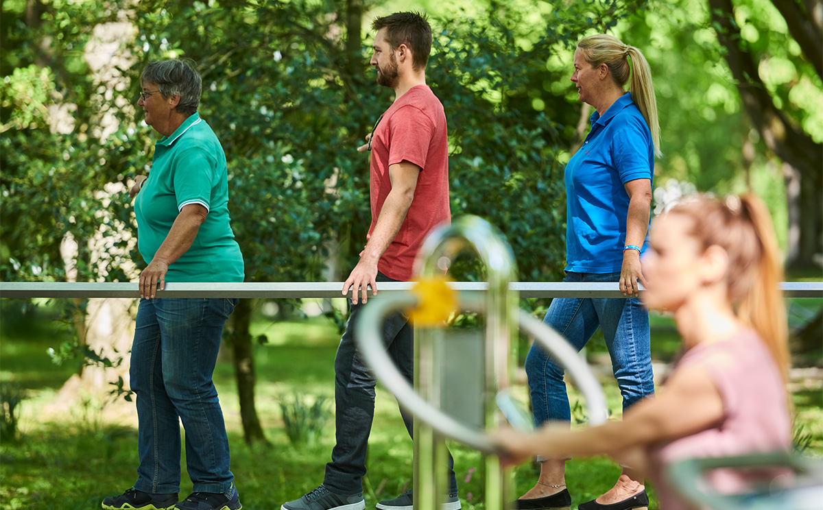 Outdoor Fitness Parcours Im Rupertuspark 3
