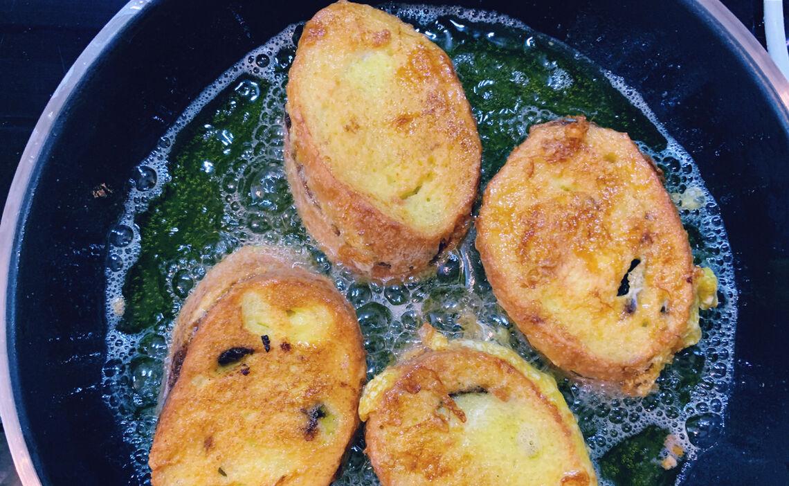 Pavesen werden gebacken