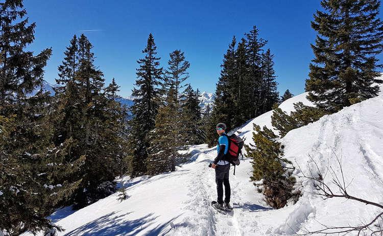 Schneeschuh-Wanderung am Predigtstuhl