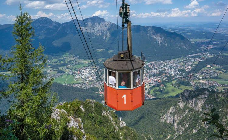 Predigtstuhlbahn Alpenstadt Bad Reichenhall Bayern