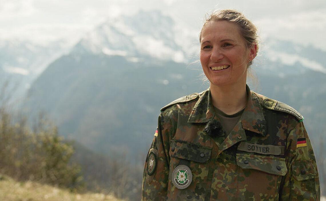 Bea Soyter, die Heeresbergführerin