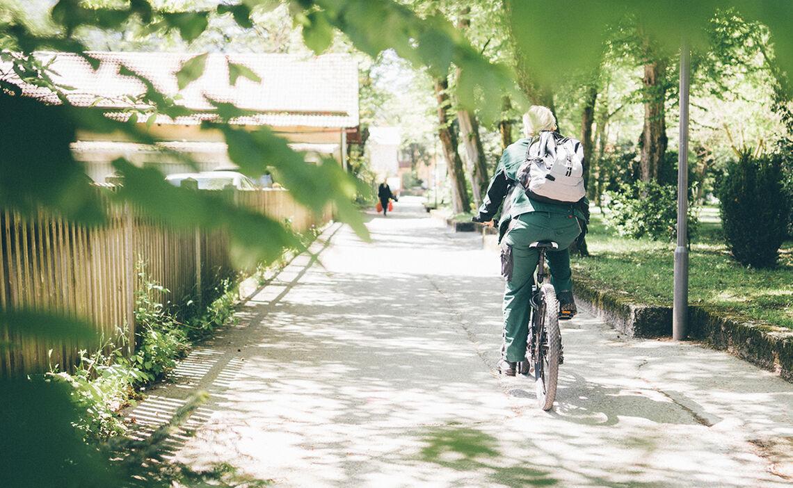 Radfahren Alpenstadt Bad Reichenhall