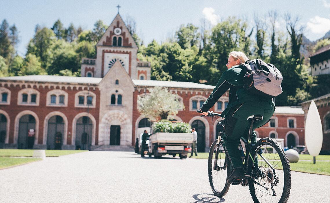 Radfahren Alte Saline Reichenhall