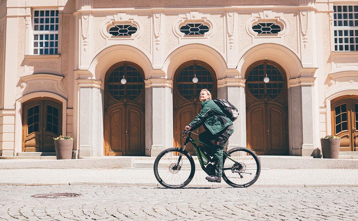 Radfahren Koenigliches Kurhaus Bad Reichenhall