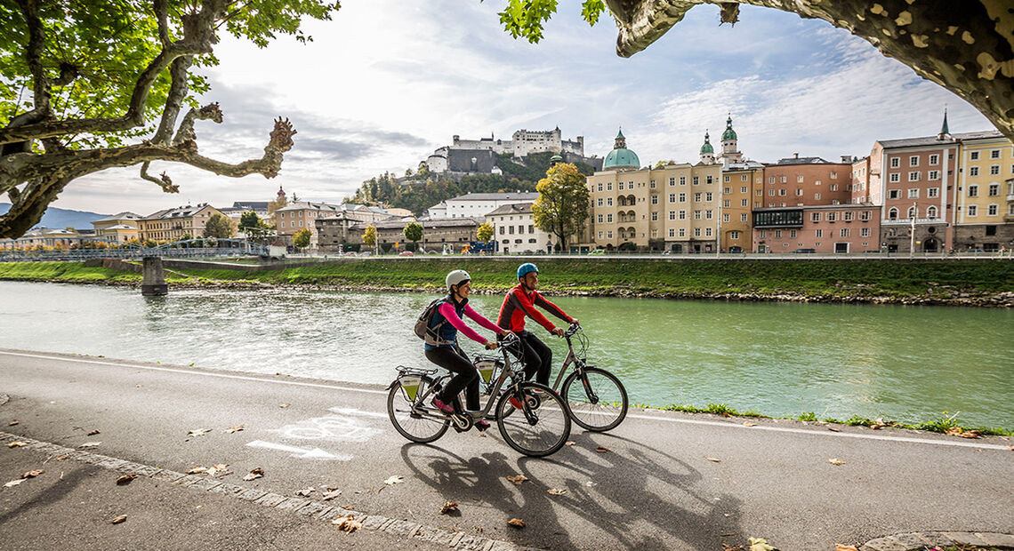 Radweg Bad Reichenhall Salzburg Berchtesgaden