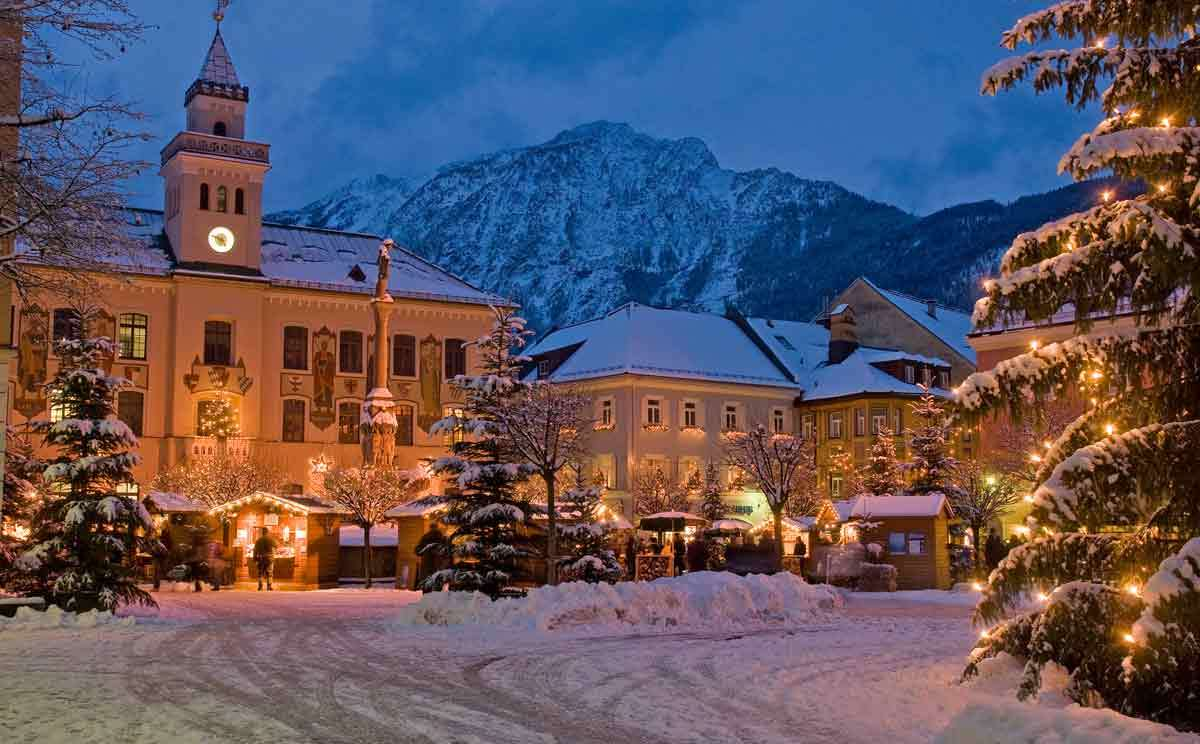 Alpenstadt-Advent: Der Christkindlmarkt in Bad Reichenhall