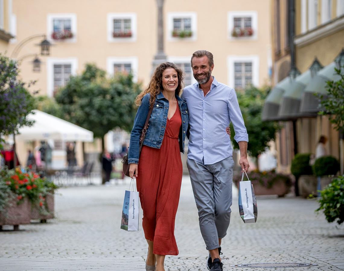 Einkaufen in Bad Reichenhall