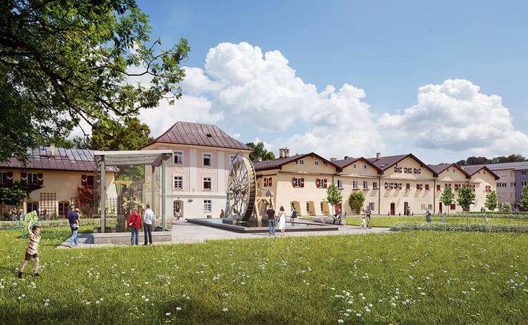 Salinenpark Traunstein Stadt Traunstein
