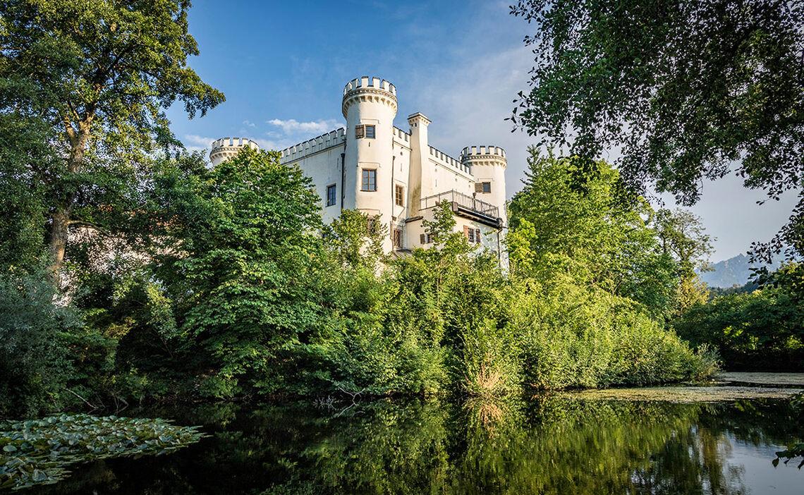 Schloss Marzoll Alpenstadt Bad Reichenhall