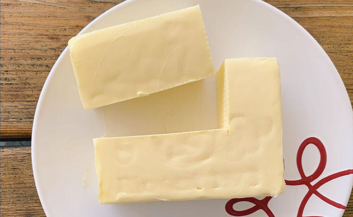 Butter schneiden