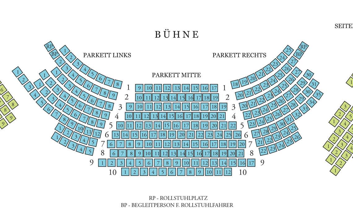 Sitzplan Konzertrotunde 2kategorien