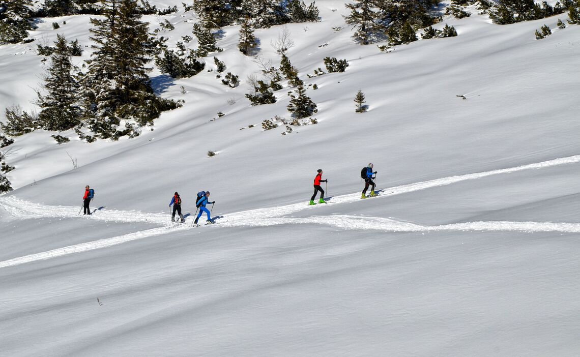 Skitouring In The Region