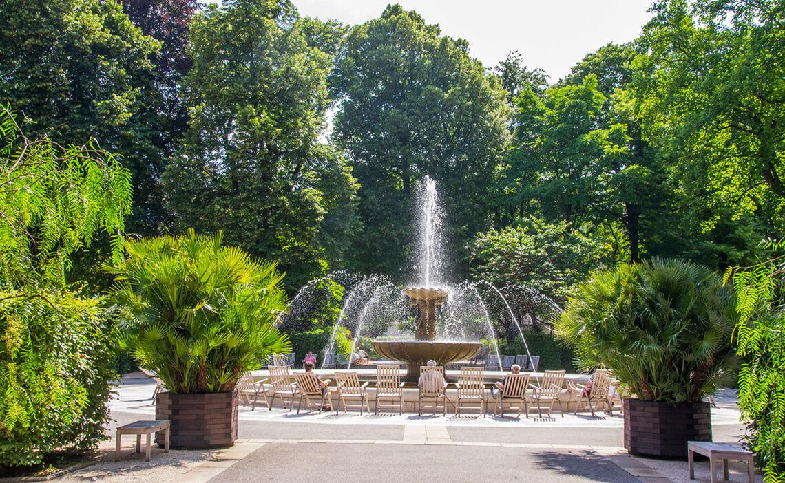 Solebrunnen Kurgarten Bad Reichenhall