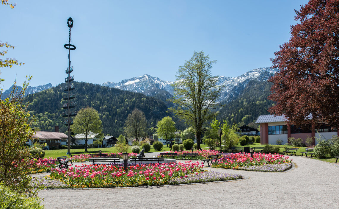 Spa Garden in Bayerisch Gmain