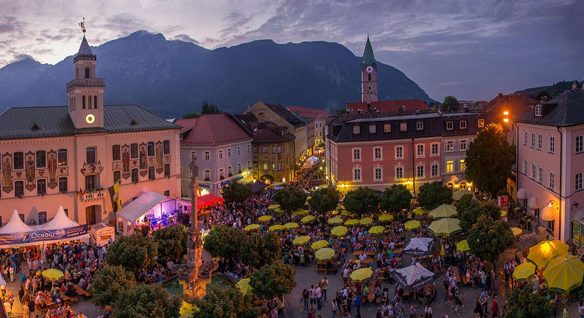Stadtfest Alpenstadt Bad Reichenhall 1
