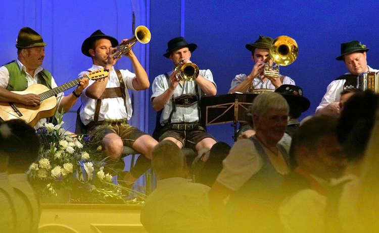 Tanzveranstaltung Reichenhall