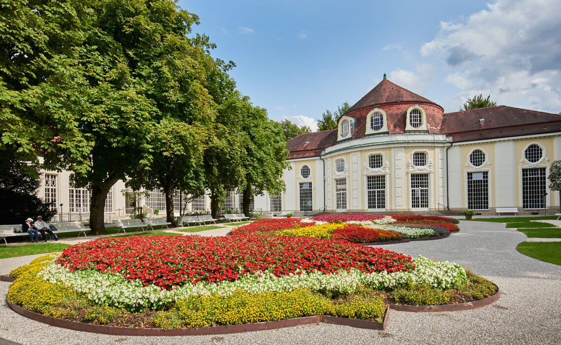 The Circular Concert Hall in the Royal Spa Garden