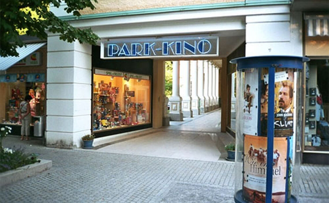 The Park-Kino in the Alpine Town of Bad Reichenhall