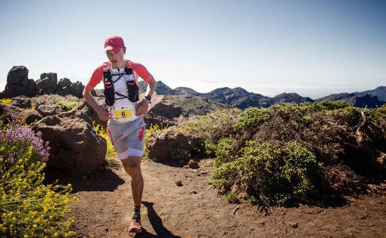 Phillipp Reiter bei Transvulcania © Jordi Saragossa
