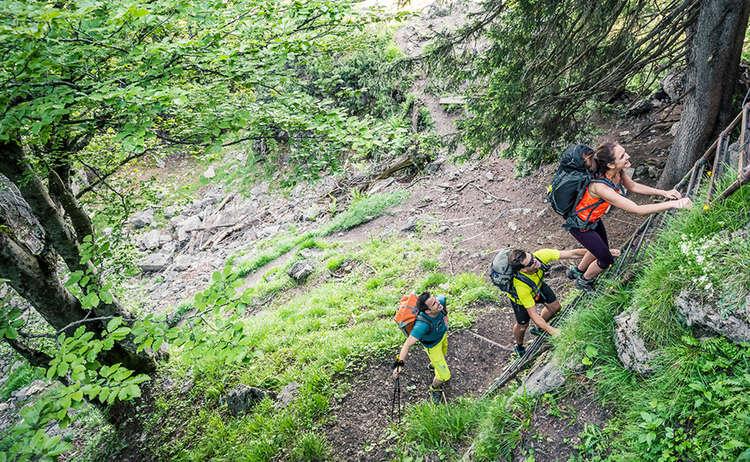 Wandern Bergstiegen Bad Reichenhall Alpenstadt