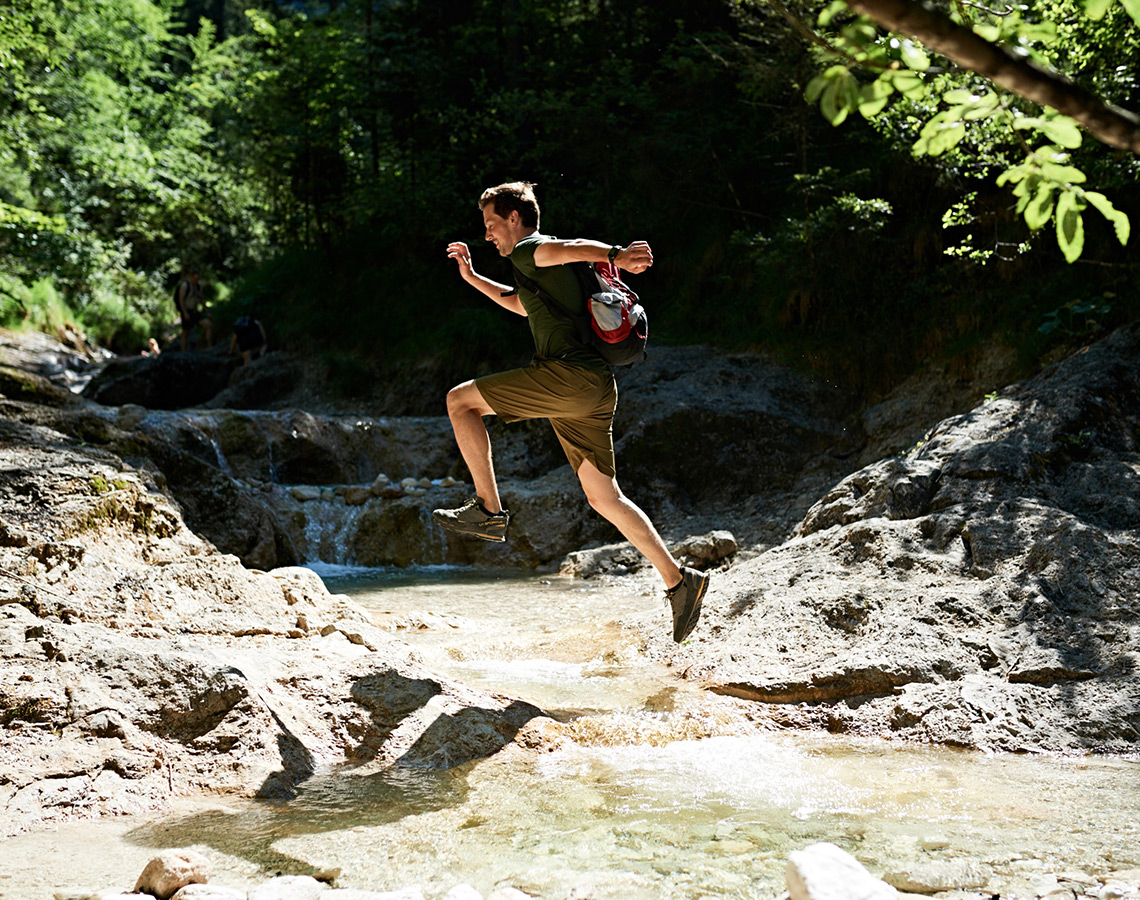 Wandern Wasser Bayerisch Gmain