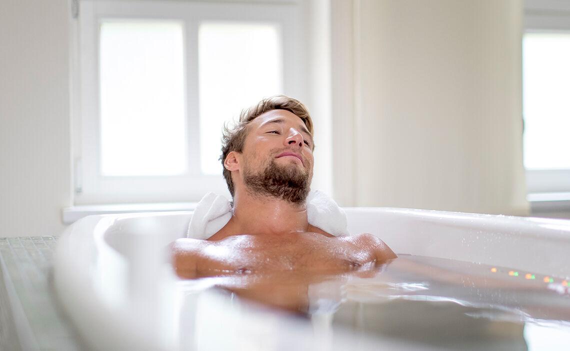 Wannenbad für mehr Entspannung