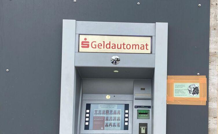 Geldautomat in der Frühlingstraße
