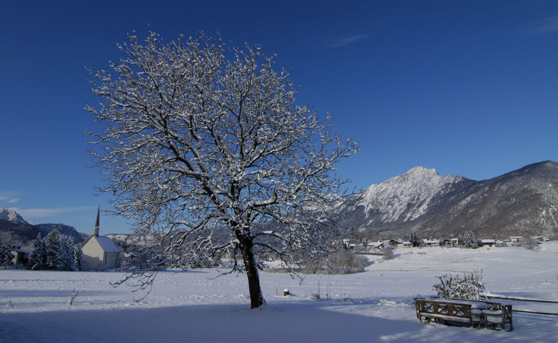 Winter in Bayerisch Gmain