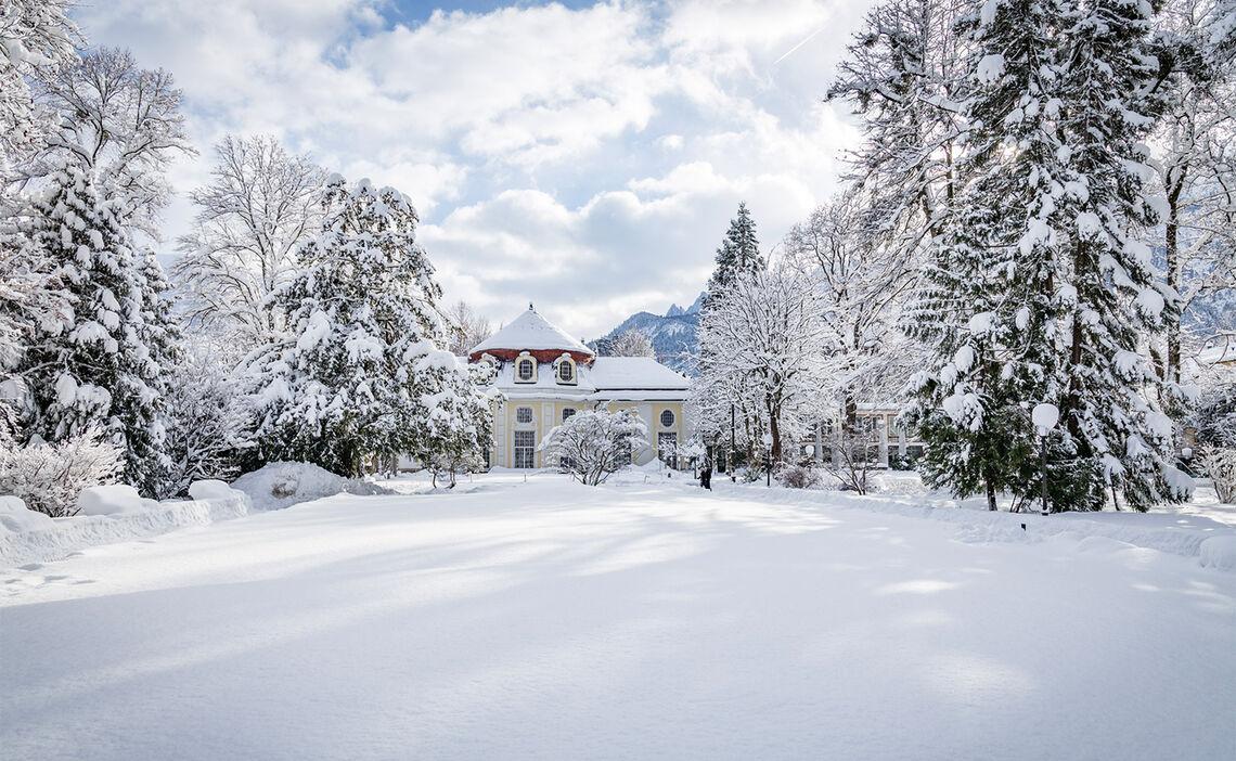 Winter im Königlichen Kurgarten