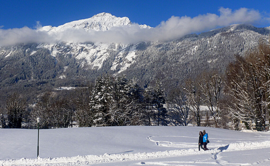 Winterwandern in Bayerisch Gmain und Bad Reichenhall