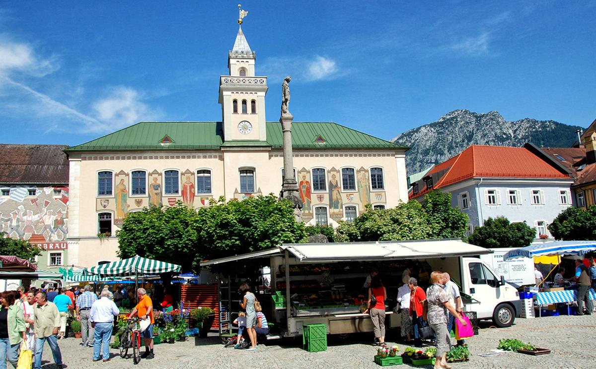 Wochenmarkt Bad Reichenhall