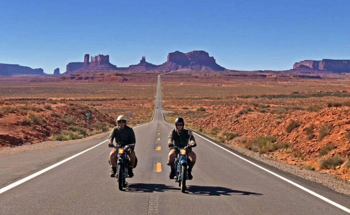 Die Wittmann-Brüder Thomas und Julian im Monument Valley