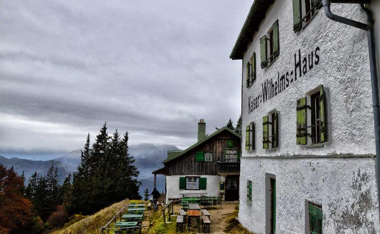 Zwieselalm Kaiser Wilhelms Haus Alpenstadt Bad Reichenhall